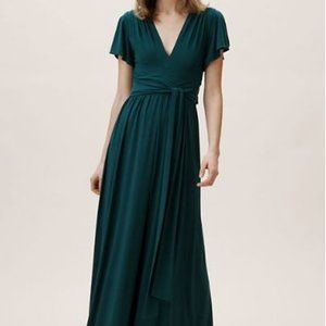 BHLDN Emerald Green Bridesmaid Dress